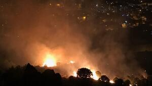İzmirdeki yangın kontrol altına alındı