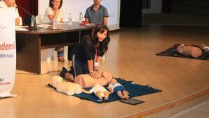 Manavgatta ilk yardım semineri
