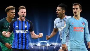 Inter-Tottenham ve Monaco-Atleti maçlarında öne çıkanlar Eksikler, iddaa...