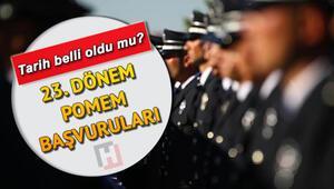 Polislik başvurusu ne zaman yapılacak POMEM 23. Dönem başvuruları