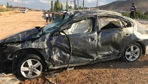 Afşinde kaza: 1 ölü, 3 yaralı