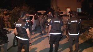İstanbulda şafak vakti uyuşturucu operasyonu