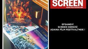 Efsanevi Screen dergisi, Adana Film Festivali'nde