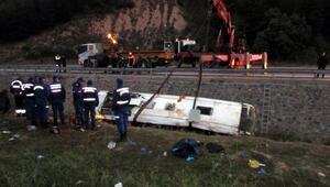 Otobüs kazasında ölenlerin cenazeleri memleketlerine gönderildi
