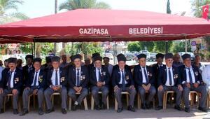 Gazipaşada Gaziler Günü kutlandı