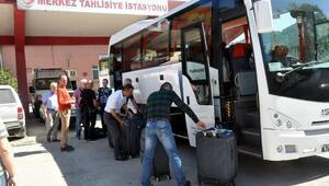 Uluslararası Maden Kurtarma Yarışmasına katılacak ekip, Rusya yolcusu