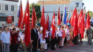 Bodrumda 19 Eylül Gaziler Günü kutlandı