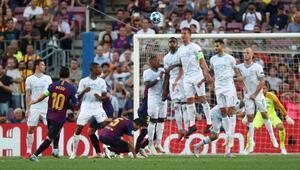 Şampiyonlar Liginde bir garip taktik oyunu Messiye sökmedi...