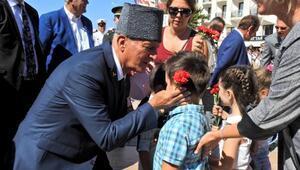 Gaziler Günü Çeşmede törenle kutlandı