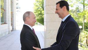 Ortalık karışmış Rus uçağı düşmüştü... Esad'dan Putin'e flaş mesaj