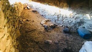 Herokol Dağında teröristlere ait 2 mağara bulundu