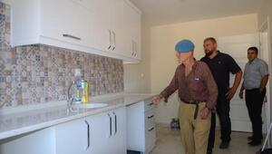 Osmangazi Belediyesi, Kıbrıs gazisinin harabe evini yıkıp yeniden yaptı