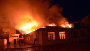 Şarköyde anaokulunda yangın