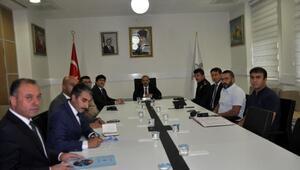 Bitliste eğitim için güvenlik toplantısı yapıldı