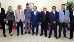 Kayseri Gazeteciler Cemiyeti'nden (KGC) ERÜ ve Kayseri üniversitesi rektörlerine ziyaret