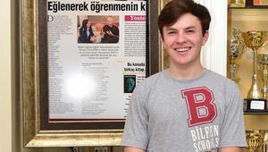 Dünyanın en genç girişimcilerinden Jamie Beaton öğrencilerle buluştu