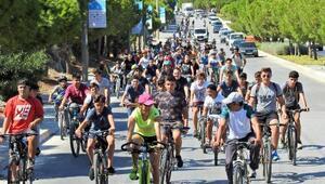Avrupa Hareketlilik Haftasında Çeşmede yürüyüş ve bisiklet etkinliği