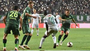 Bursaspor galibiyeti de kaybetmeyi de unuttu