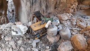Herekol Dağında teröristlere obüs atışı