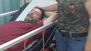 Cezaevindeki oğluna af için Ankaraya yürürken rahatsızlandı