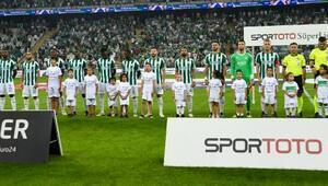 Bursaspor oyununu skora yansıtamıyor