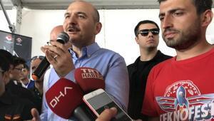 (Geniş Haber) - İçişleri Bakanı Soylu, Bayraktar SİHAyı yönetti
