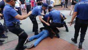 İntihar eden baba için toplanan gruba polis müdahalesi: 15 gözaltı
