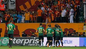 Galatasaray, Akhisarda liderliği bıraktı