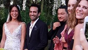 Ünlü oyuncu Buğra Gülsoy ve Nilüfer Gürbüz evlendi