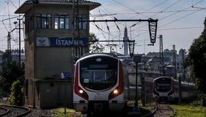 (Havadan fotoğrafla) - Sirkeci Garında 124 yıllık tren rayları...