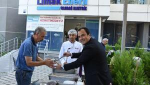 Limak Enerjiden müşterilere aşure ikramı