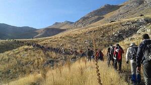 Tomarza 4üncü Ulusal Beydağı tırmanışı gerçekleştirildi