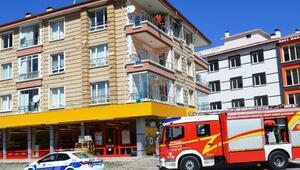 Ankara'da yangın: 1 yaralı