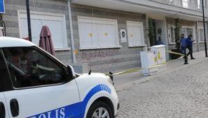 Avukatlık bürosu binasına av tüfekli saldırı