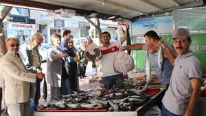 Palamut bereketi hem balıkçıyı hem vatandaşı sevindirdi