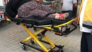 180 kiloluk kadın, evinden tedaviye alındı