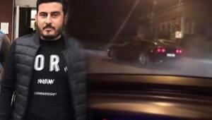 İstanbul'da lüks otomobilli trafik magandası yakalandı