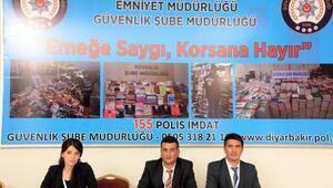 Diyarbakır Kitap Fuarında polisten Korsana hayır standı