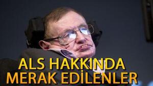 ALS hastalığı nedir ALS hastalığı tedavisi var mı