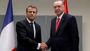 Cumhurbaşkanı Erdoğan, Fransız mevkidaşı ile görüştü