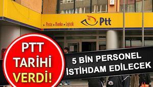 PTTden 5 bin personel alım sürecine ilişkin açıklama Kesin sınav sonuçları ne zaman açıklanacak