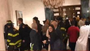 Erdoğan'ı ABD'de takip eden gazetecilerin kaldığı otelde yangın