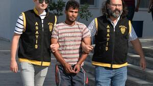 10 bin liralık ev eşyası çalan kağıtçı tutuklandı