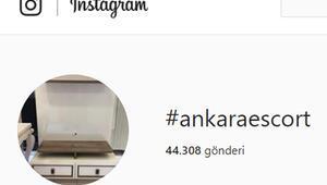 #Ankara etiketiyle sanal fuhuş pazarlığı