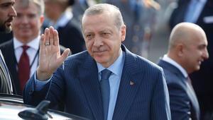 Cumhurbaşkanı Erdoğan Almanyada