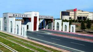 Dünya üniversiteleri sıralamasında ERÜ Türkiye 8incisi oldu