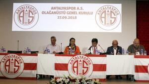 Ali Şafak Öztürk, 3 yıllığına Antalyaspor başkanı