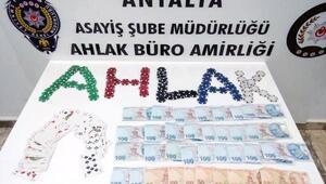 Antalya polisinden kumar operasyonu