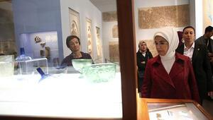 Emine Erdoğan, Berlinde Bergama Müzesini ziyaret etti
