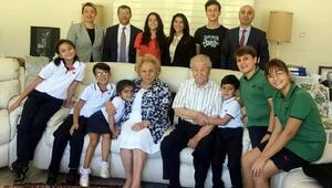 Öğretmen ve öğrencilerden Ersoya ziyaret